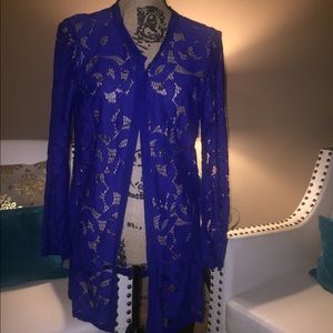 Chico's lace jacket